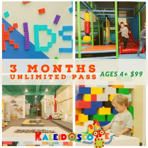 3 months unlimited pass Kaleidoscoppe