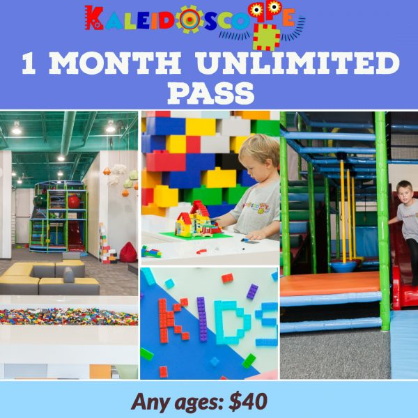 1 month unlimited pass Kaleidoscoppe